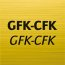 For GFP-CFRP (glas fibre and carbon fibre reinforced synthetics)